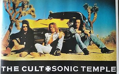 """The Cult """"Sonic Temple"""" poster"""