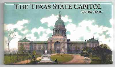 The Texas State Capitol - Austin, Texas -  Magnet