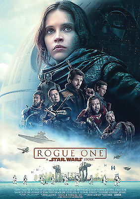 Rogue One Poster Saga Star Wars Coming New in Dec 2016 FREE P+P CHOOSE YOUR SIZE