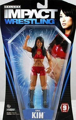TNA Deluxe Impact 9 Gail Kim ACTION FIGURE
