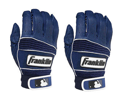 Franklin Youth Neo Classic II Batting Gloves - Large - Navy/Navy