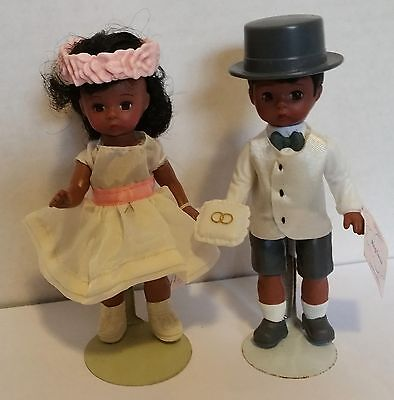 McDonalds Madame Alexander Flower Girl and Ring Bearer, both with tags