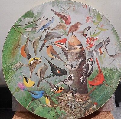 "Springbok Circular Jigsaw Puzzle ""Familiar Birds"""