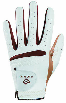 Bionic Women's RelaxGrip Caramel Palm Right Handed Golf Glove - Medium