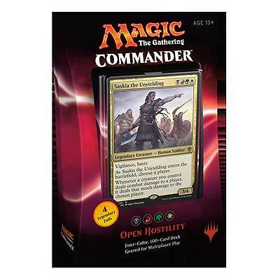 Magic the Gathering Commander 2016 Open Hostility