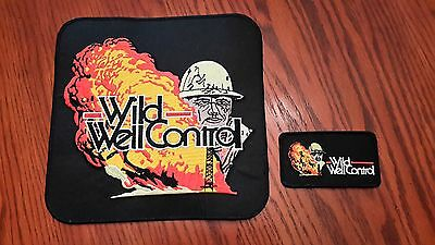 Oilfield Embroidered Patch Set-Wild Well Control-Set of 2-Older Logo-2nds