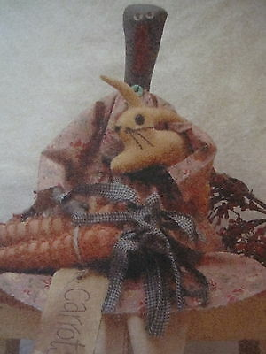 """""""  CARROT STEW  """"  Cloth Doll Pattern by Mogs Designs"""