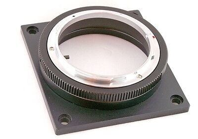 Mount Adapter for Canon EOS FL FD lens to RED Epic Scarlet-X cinema camera