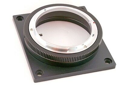 Mount Adapter for Canon FL FD lens to RED Epic Scarlet-X cinema camera