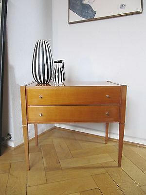 60s KOMMODE, BEDSIDE TABLE, NACHTTISCH MINI SIDEBOARD