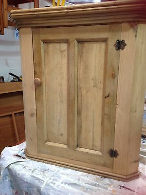Beautiful Antique Pine Corner Unit