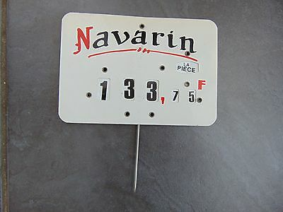Vintage French Butcher's Shop Label Charcuterie Boucherie Francs 'navarin'