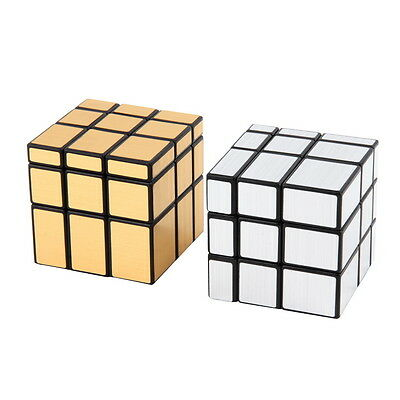 New 3 x 3 x 3 Magic Cube Puzzle Ruler Mirror Intelligence Game Kids Toy ZV