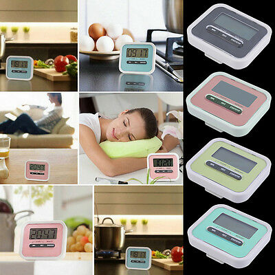 Large LCD Digital Kitchen Cooking Timer Count-Down Up Clock Loud Alarm ZV