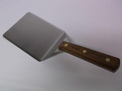 Dexter 85869 Wood Hndle 6X5 Steel Spatula Grill Turner Burger Flipper New Dexter