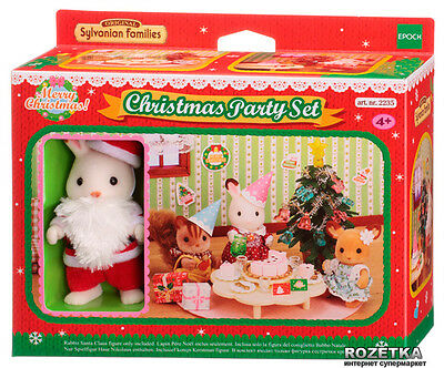 Christmas Party Set ❤ Sylvanian Families Calico Critters EPOCH Japan