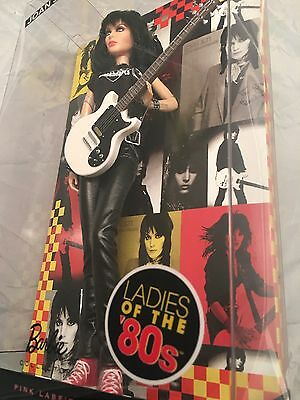 Mattel,Made In 2009.Barbie Pink Label.Ladies Of The 80's(1980's).Joan Jett.Boxed