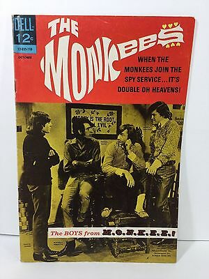 The Monkees, 12-533-710, No.5. Dell Comic, Oct 1967, FN 6.0