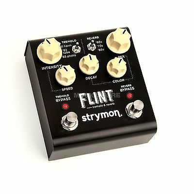 Strymon Flint Tremolo and Reverb guitar effect pedal