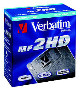Disks Verbatim DSHD 1.44MB 8-pack Mf 2 Hd 87410