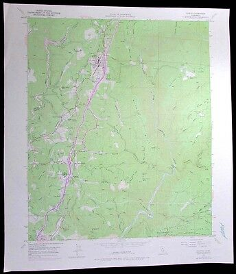 Colfax Weimar California vintage 1977 old USGS Topo chart