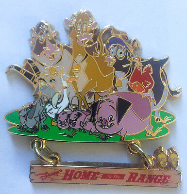 Disney Pin 33024 WDW - Cast Exclusive - Home On The Range (Dangle) Pin