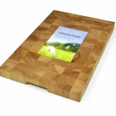 Chopping Cutting Board Wooden Heavy Quality Wood Thick Kitchen Utensil