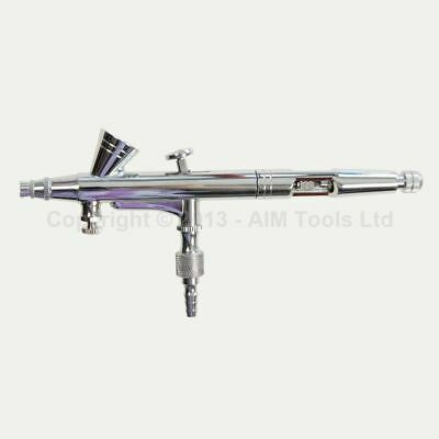 Tatoo Gravity Feed Airbrush Set Double-action Trigger Air-paint Control