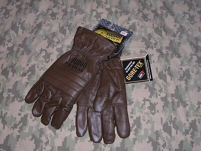 Gloves Goretex Leather Size Medium Large New Voodoo Tactical