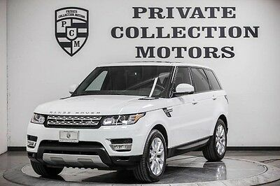 2014 Land Rover Range Rover Sport HSE Sport Utility 4-Door 2014 Land Rover Range Rover Sport HSE 1 Owner Clean Carfax Low Miles