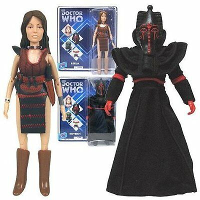 Official Doctor Who Leela and Sutekh Action Figures
