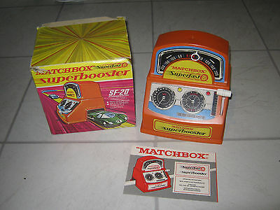 Matchbox Superfast SF20 Superbooster Rev Counter - Boxed