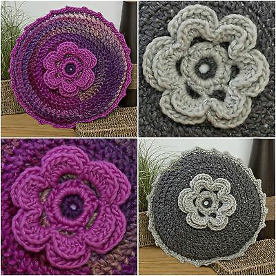 Twilleys of Stamford Crochet Kit Coussin Rond Set Loisirs Créatifs inclus