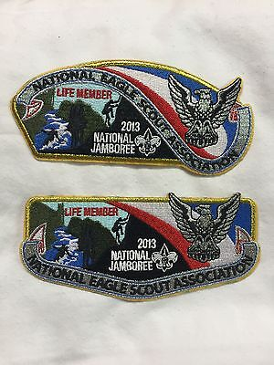 Boy Scouts -  2013 National Jamboree - NESA Life member csp and flap
