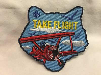 "Boy Scouts - Cub Scout Activity patch ""Take Flight"""