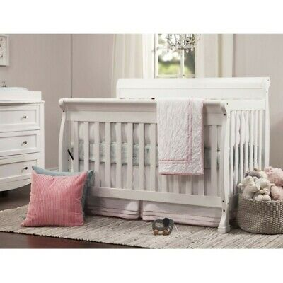 DaVinci Kalani 4-in-1 Convertible Wood Baby Crib in White