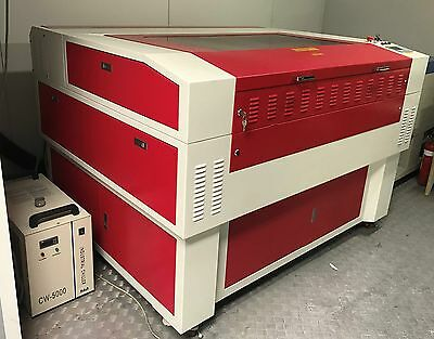 CO2 130W 'RECI' Laser cutting and engraving machine