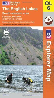The English Lakes: South Western Area (O... by Ordnance Survey Sheet map, folded