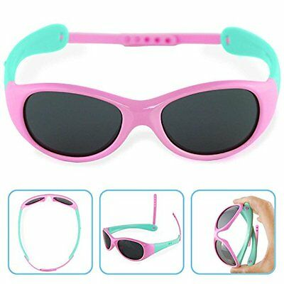 NEW Boys Girls Kids Polarized UV Protection Sunglasses NSS0701pink SHIPS FREE