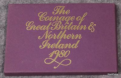 1980 Coinage of Great Britain & Northern Ireland Royal Mint Proof Set