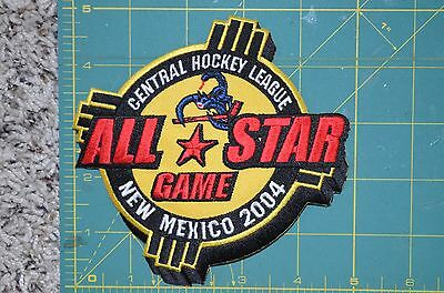 "2004 Throwback CHL All Star New Mexico Minor League Hockey Jersey 5"" Patch"