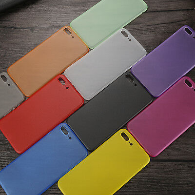 Ultra Thin 0.3mm Transparent Slim Case Cover For Apple iPhone 5 6 7 plus WD