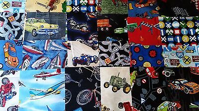 """Transport fabric pack 24 x 6 1/2"""" squares"""