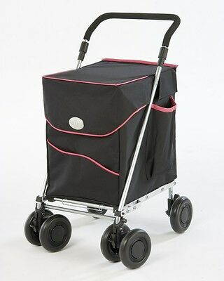 Foldable Shopping TROLLEY & discreet Aid to MOBILITY - SAFE TO LEAN ON TOO!   BP