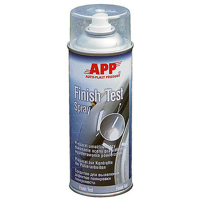 APP Finish Test Spray Polierarbeiten 210910 (12,38€/L)