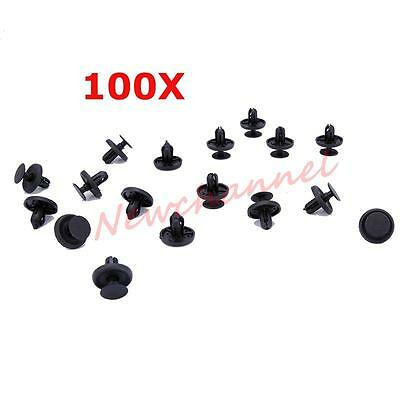 100x Bumper Mud Guard Push-Type Fastener Panel Clips for Ford Taurus Sable
