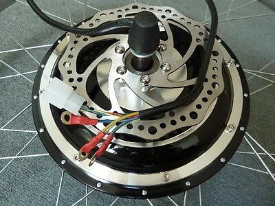 36V 500w F Wheel DISC Electric Bicycles Brushless Conversion Motor Sporting BIKE