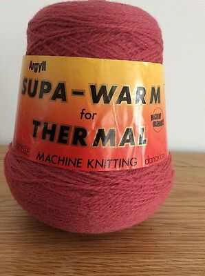 Machine Knitting Wool Colour French Rose Argyll Super Warm 4 Ply