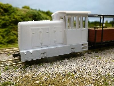 009 25 Tonner-3d Printed bodyshell for the Kato 11-103 chassis. Fab Xmas Pressie