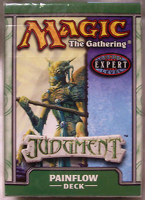 Magic The Gathering MTG JUDGMENT Theme Deck PAINFLOW - New & Sealed